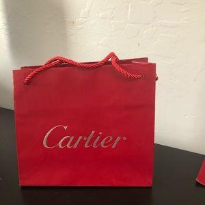 Authentic Cartier bag